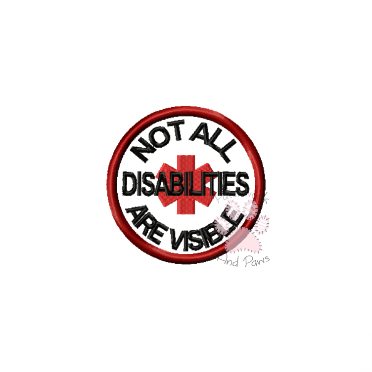 Not All Disabilities Are Visible - Star Of Life