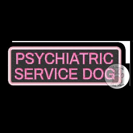Psychiatric Service Dog