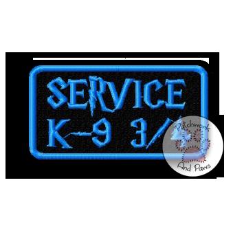 Service K 9 3/4
