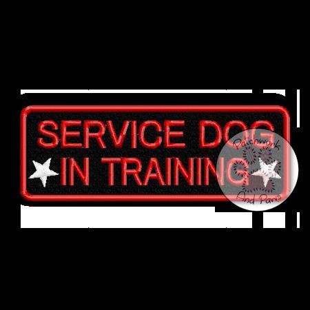 Service Dog In Training - Symbols