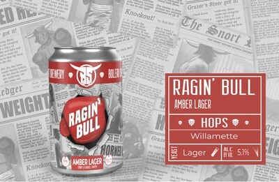 Ragin' Bull Case (24 12oz Cans)