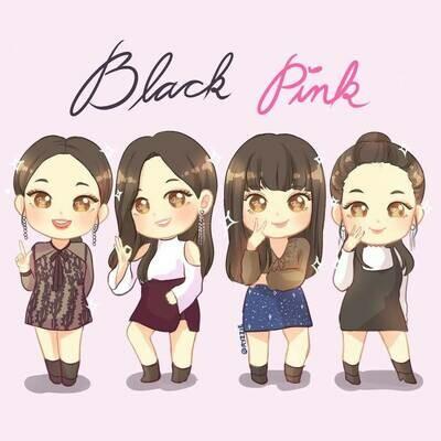 BlackPink Full 4 Members Handmade Clay Doll Exclusive (Pre-Order)