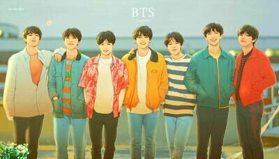 BTS Full 7 Members Handmade Clay Doll Exclusive (Pre-Order)