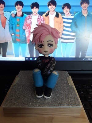 BTS Jimin Handmade Clay Doll Exclusive