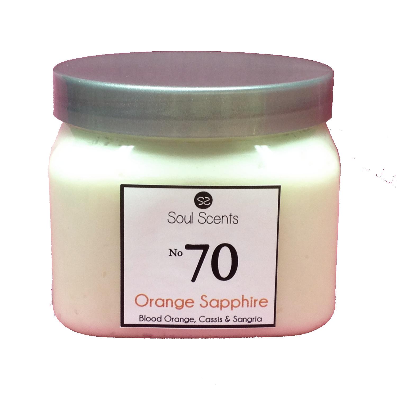 Orange Sapphire #70