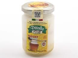 Yogurt Miele Vasetto Vetro Pittalis 140 gr