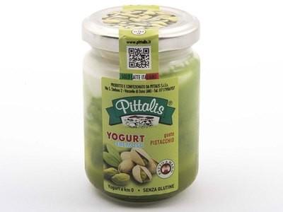 Yogurt Pistacchio Vasetto Vetro Pittalis 140 gr