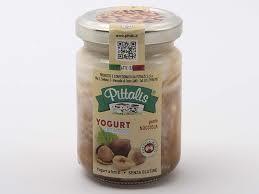 Yogurt Nocciola Vasetto Vetro Pittalis 140 gr