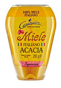 Miele Italiano Di Acacia Gardin Squeeze 250 gr