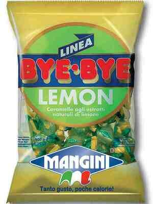 Caramelle Mangini Bye Bye Limone 150 gr