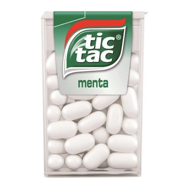 Tic Tac Chewingum Menta 13,6 gr