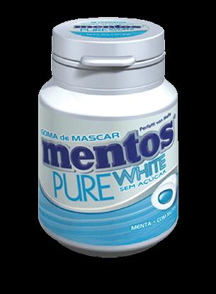Mentos Pure White Menta 30 gr
