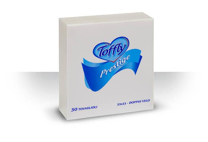 Tovaglioli Prestige 33x33 Toffly 50 pz