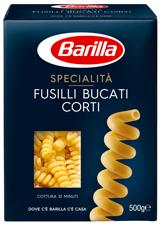 Fusilli Bucati Corti Barilla 500 gr
