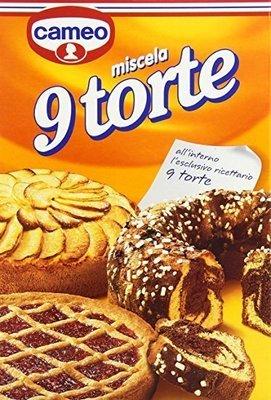 Miscela 9 Torte Cameo 380 gr