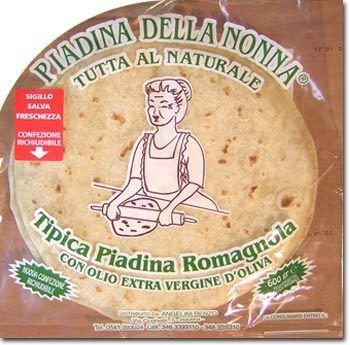 Piadina Della Nonna con Olio Extravergine di Oliva 600 gr
