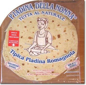 Piadina Della Nonna A Spicchi Classica 500 gr