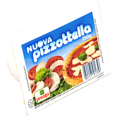 Mozzarella Pizzottella Prealpi 250 gr