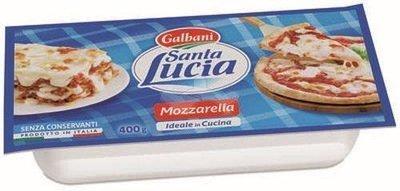 Mozzarella Santa Lucia Galbani X Pizza 400 gr