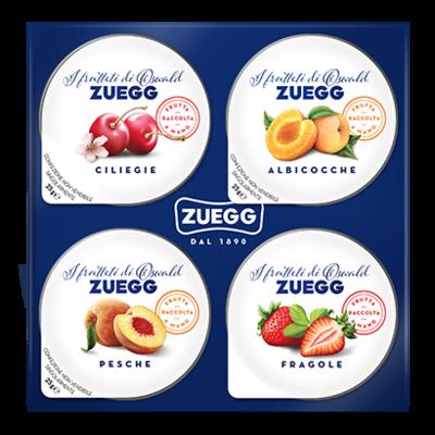 Confettura Colazione 4 Gusti Zuegg 4 X 25 Gr 100 gr