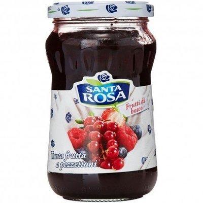 Confettura Extra Frutti Di Bosco Santa Rosa 350 gr