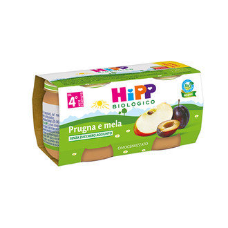 Crema Di Mele e Prugna Hipp 2 X 100 gr 200 gr