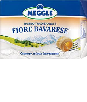 Burro Fiore Bavarese Meggle 250 gr