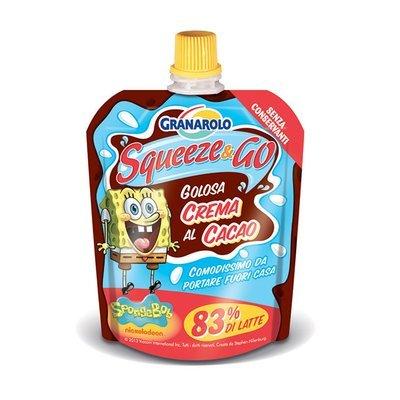 Squeeze & Go Granarolo Cacao 85 gr