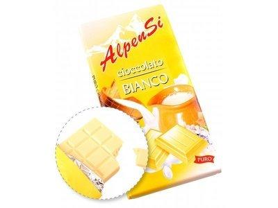 Cioccolato Al Latte Bianco Alpensi 100 gr