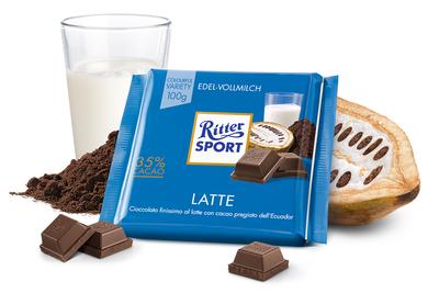 Ritter Sport Cioccolato Latte 100 gr