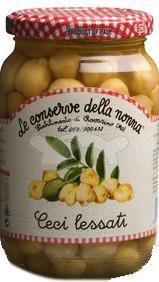 Ceci Lessati Conserve Della Nonna Vaso Vetro 360 gr