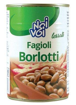 Fagioli Borlotti Noi&Voi Barattolo 400 gr