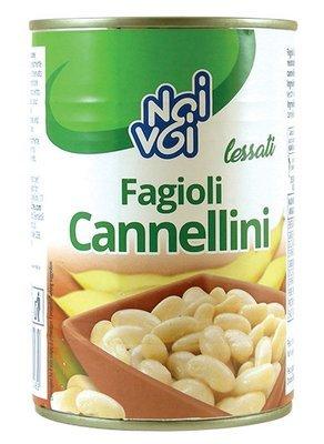 Fagioli Cannellini Lessati Noi&Voi Barattolo 400 gr