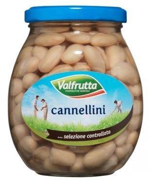 Fagioli Cannellini Valfrutta Vetro 360 gr