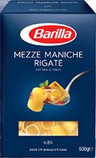 Mezze Maniche Barilla 500 gr
