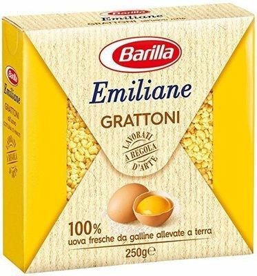Pasta All'Uovo Grattoni Barilla 250 gr