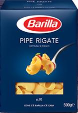 Pipe Rigate Barilla 500 gr
