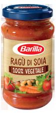 Ragù Di Soia 100% Vegetale Barilla 195 gr