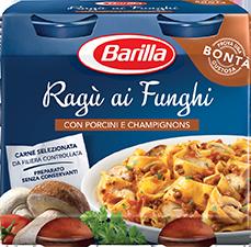 Ragù Funghi Barilla 180 gr x 2