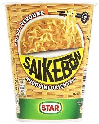 Saikebon Nudolini Star Pollo 59 gr