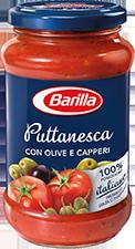 Sugo Puttanesca Barilla 400 gr