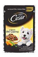 Cesar Le Delizie Del Giorno Con Pollo e Verdure Busta 100 g