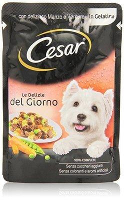 Cesar Le Delizie Del Giorno Con Manzo e Verdure Busta 100 g