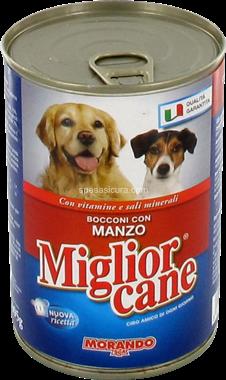 Miglior Cane Bocconcini Con Manzo 400 g