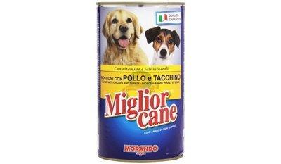 Miglior Cane Bocconcini Con Pollo e Tacchino 400 g