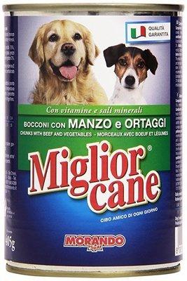 Miglior Cane Bocconcini Con Manzo e Ortaggi 400 g