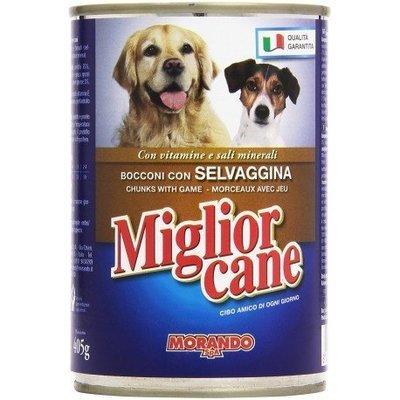 Miglior Cane Bocconcini Con Selvaggina 400 g