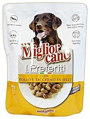 Miglior Cane I Preferiti Con Pollo e Tacchino Busta 300 g