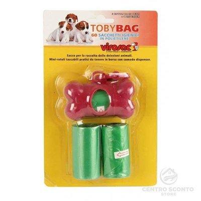 Sacchetti Igienici Toby Bag Virosac 60 pz