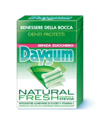 Daygum Natural Fresh Astuccio 29 gr